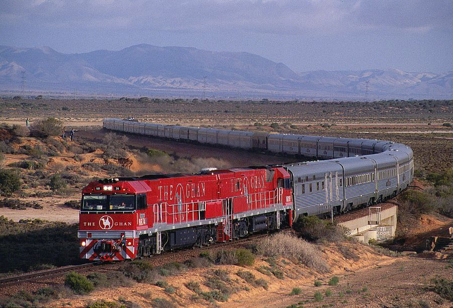 The Ghan to Darwin