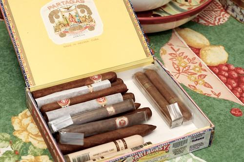 Los cigarros!