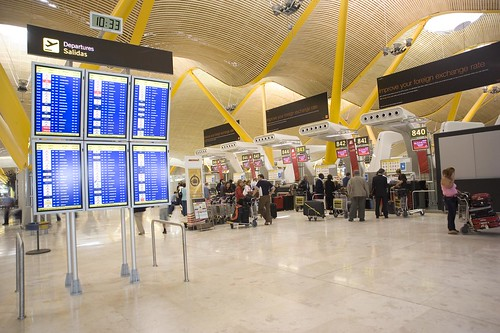 T4 Aeropuerto de Madrid - facturación