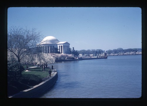 Jefferson Memorial, April 1959