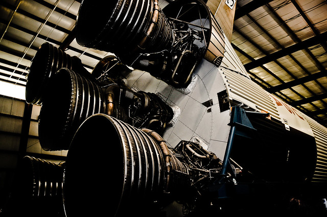 Photo:Saturn V Boosters By:CeeKay's Pix