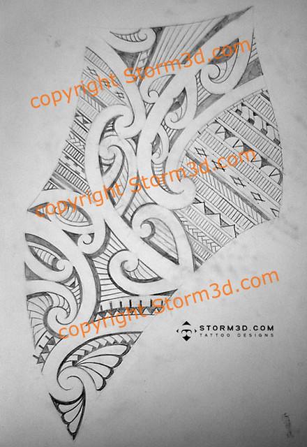 shoulderblade maori tattoos sketch custom design flickr photo sharing. Black Bedroom Furniture Sets. Home Design Ideas