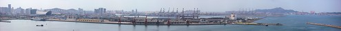 china city panorama lighthouse mountain port geotagged harbor boat barco ship harbour offshore landmark panoramic nave rig 中国 shipyard hafen schiff stitched province shandong drilling 港 navire yantai werft 海港 烟台 山东 bohrinsel navío ©allrightsreserved 灯塔 烟台山 geo:lat=37547921294281664 geo:lon=1213968363404274