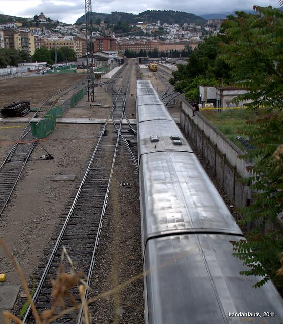 estacion de tren granada: