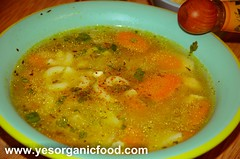 Chicken Vegetable Soup 3