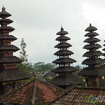 Levels of Pagodas at Besakih Temple - Bali, Indonesia