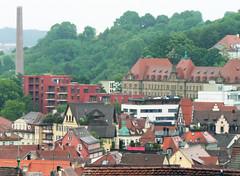 Tübingen, Blick Richtung Österberg