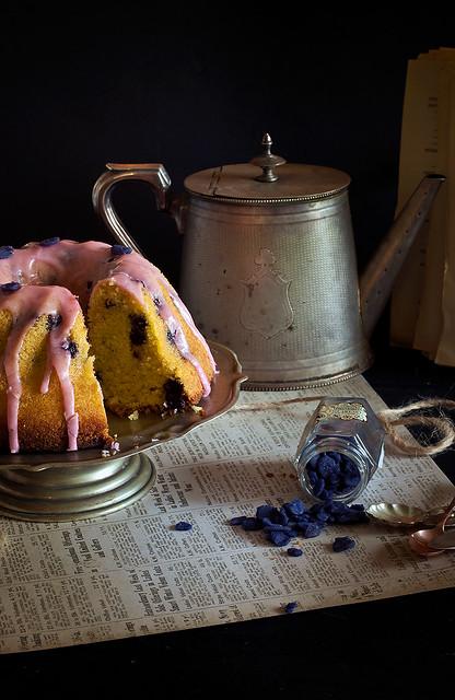 Old fashioned blueberry semolina cake | Flickr - Photo Sharing!
