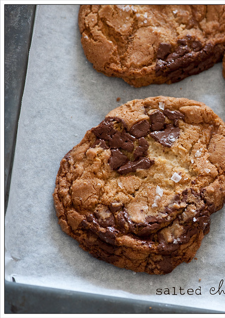 salted chocolate chip cookies | Flickr - Photo Sharing!