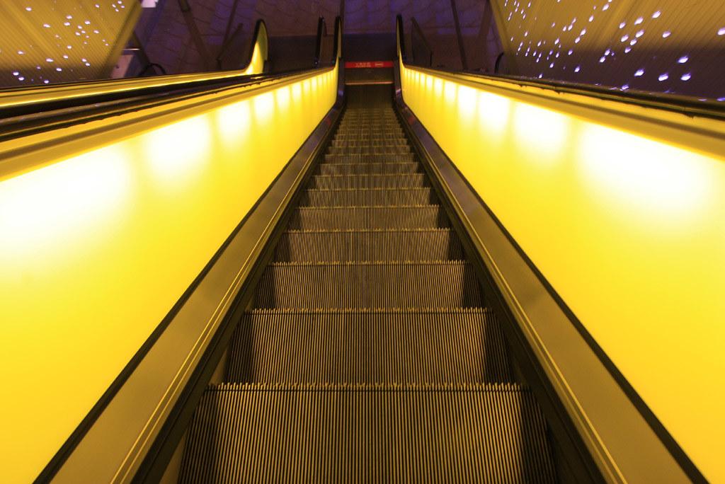 Yellow Escalators