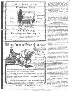 Lee ad 6-6-1913