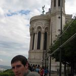 At the Basilica of Notre-Dame de Fourvière