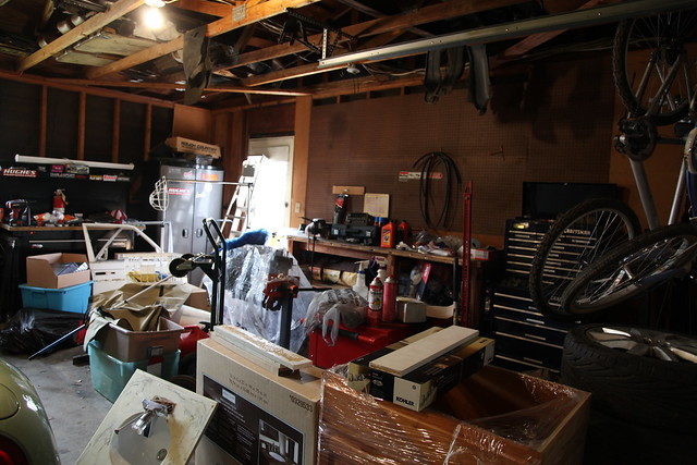 Our Garage - Before