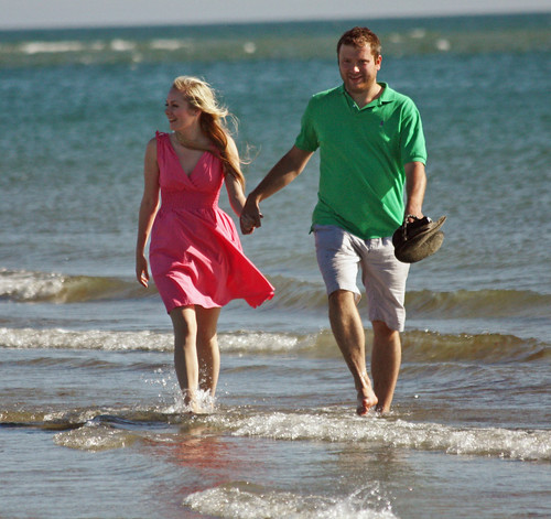 Wonderful West Wittering - June 2011 - Happy Couple 1