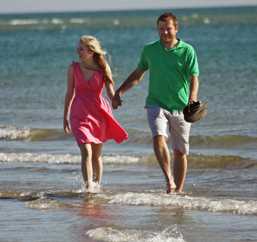 Wonderful West Wittering - June 2011 - Happy Couple 1
