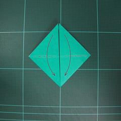 วิธีพับกระดาษเป็นรูปหมวกซามุไร (Origami Samurai Hat) 003