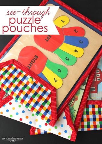 puzzle pouches