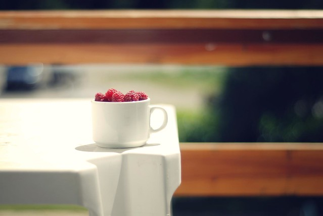 A Cup of Raspberries to Share with You