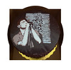 Joy Division Triple Layer Chocolate Cake
