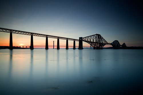 Forth Sunset - Explored & Front Page by Gareth Paxton