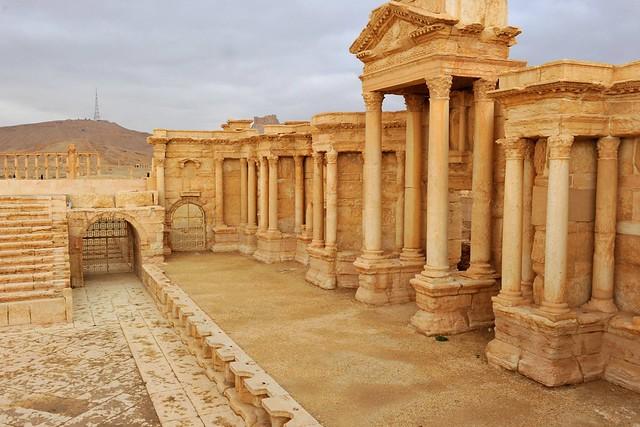 Palmyra's theater. Syria 332