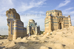 Bibi Jiwandi Bahawal Haleem and Ustad Nooria Tomb ruins at Uch Sharif Bahawalpur 2 by Engineer J