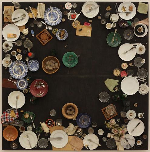 Daniel Spoerri, Hahn's (Last) Supper, 1964 1