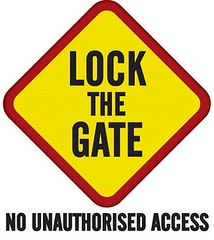 Lock The Gate Master Brand