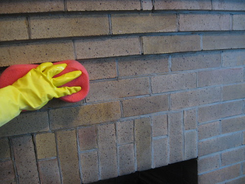 How To Wash Old Brick Decor Adventures