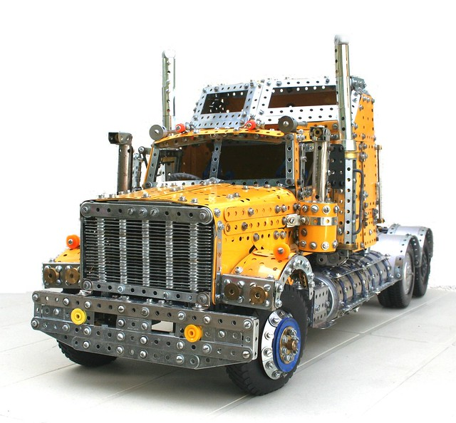 Meccano Australian Road Train Tractor