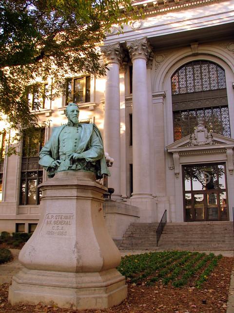 Lt. Gen. Aexander P. Stewart Statue