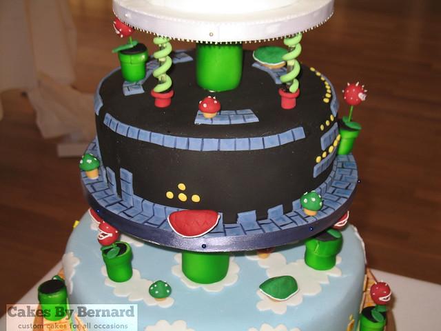 Mario Wedding Cake Middle Flickr Photo Sharing