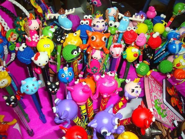 Lápices | Lápices y boligrafos decorados con figuras elabora