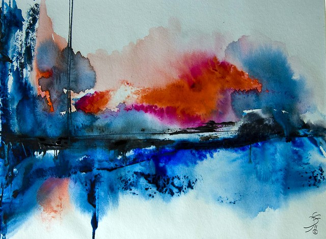 Watercolor Images Abstract Abstract Watercolor Artwork