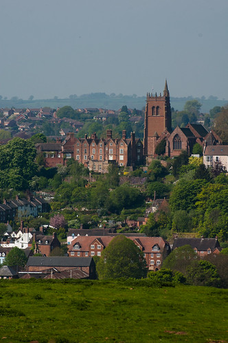 Bridgnorth from across the valley