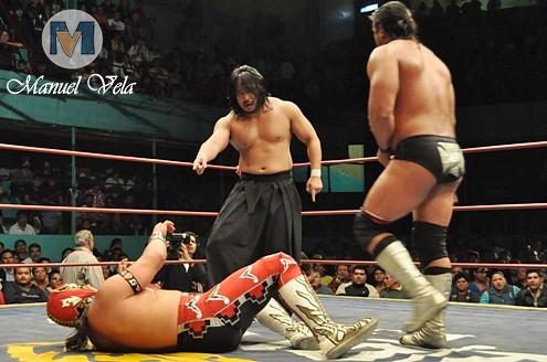 DSC_0727 Strong Man, Blue Panther y máximo vs Goto , Ultimo Guerrero y Héctor Garza por LAE Manuel Vela