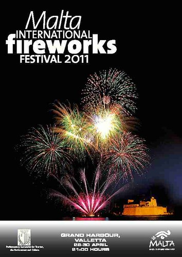Malta International Fireworks Festival 2011 Poster