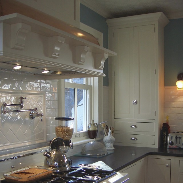 Kitchen Backsplash Using Subway Tiles: Kitchen Backsplash - Handmade Subway Tile