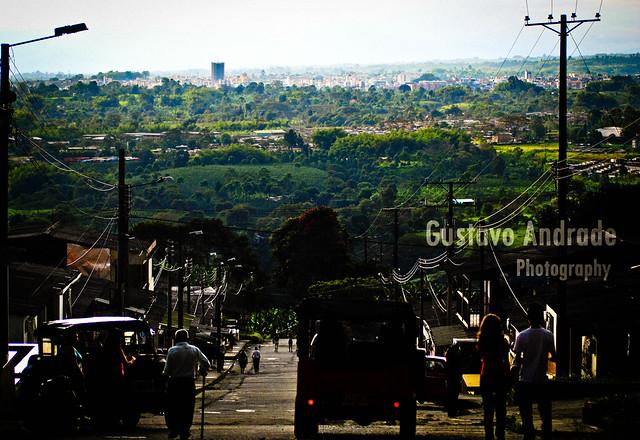 Imagen de Armenia vista desde Calarca, Quindio