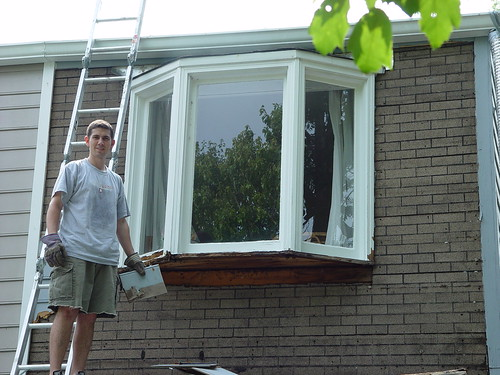 The Siding Project Marches On Old Town Home