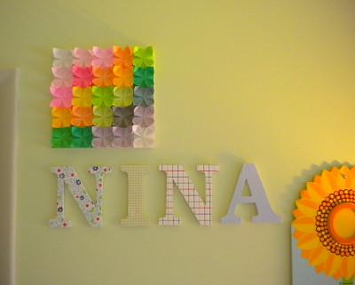 折り紙 折り紙 作り方 箱 : Origami Wall Decor