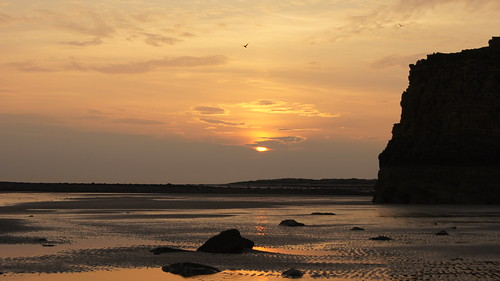 sunset scotland monreith