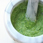 Arugula and Pistachio Pesto