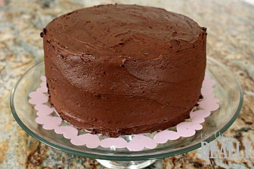 Triple Chocolate Fudge Bundt Cake