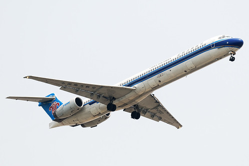 China Southern Airlines McDonnell Douglas MD-90-30 B-2100 MSN 60001
