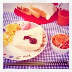 アメリケンな朝食