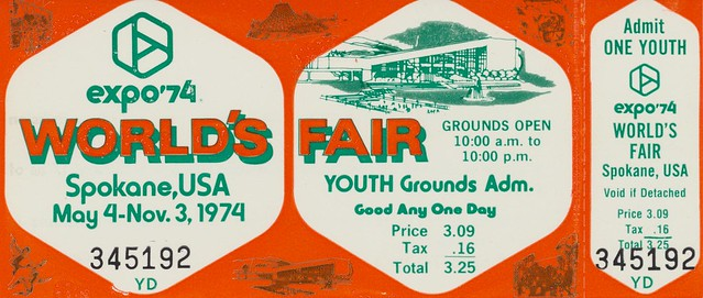 Expo '74 Youth Grounds Admission Ticket