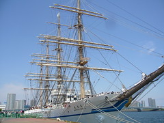 sail, sailing ship, vehicle, ship, sea, windjammer, training ship, full-rigged ship, mast, carrack, frigate, barquentine, sloop-of-war, tall ship, watercraft, barque,