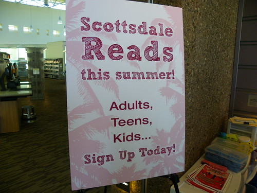 Summer reading promotion - Appaloosa Library