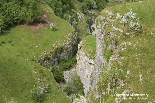 Cheddar Gorge, from above the Pinnacles, Cheddar, Somerset